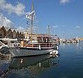 Harbor and Venetian shipyards in Chania. Crete, Greece.jpg
