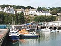 Harbour with pilot boat at Dunmore East - geograph.org.uk - 1484197.jpg