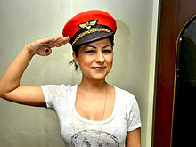 Hard kaur sony music album launch.jpg