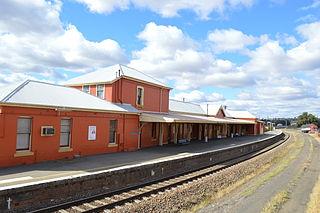 Harden railway station