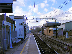 Harlow Mill railway station - Harlow Mill railway station in 2009
