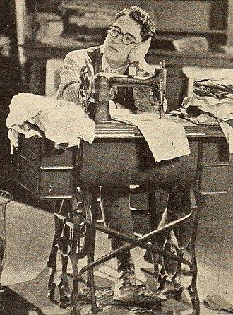 Girl Shy - Harold Lloyd as Harold Meadows, a shy and awkward writer