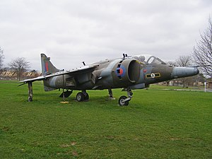Harrier Jump Jet - Image: Harrierxv 752