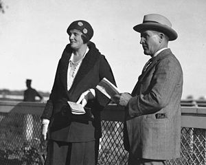 Harry Oakes - Harry and Eunice Oakes in Toronto, sometime in the 1930s