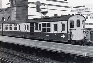 British Rail Class 201 - Set 1004 prepares to leave Cannon Street station on 14 May 1984