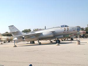 "Sud Aviation Vautour - Vautour IIB 33 ""Big Brother"" at the Israeli Air Force Museum"