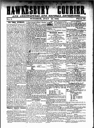 Hawkesbury Courier and Agricultural and General Advertiser - Hawkesbury Courier and Agricultural and General Advertiser, 11 July 1844