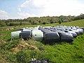 Hay bales at Corradoo East - geograph.org.uk - 798278.jpg