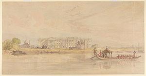 Nizamat Imambara - Image: Hazarduari Palace or the Nizamat Kila
