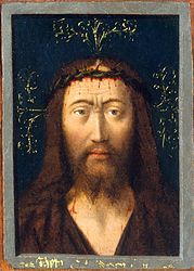 Petrus Christus: Head of Christ
