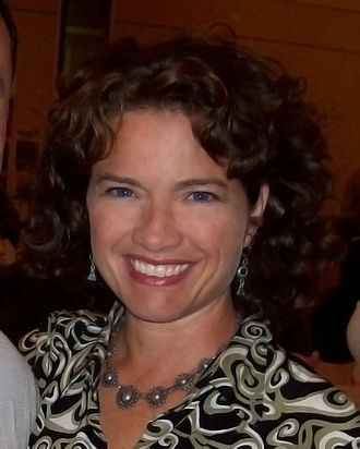 Heather Langenkamp - Langenkamp at a celebrity autograph collector's convention in Burbank, California, in 2008