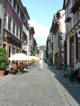 "The ""Untere Straße"" (lower street) in the Old Town"