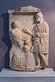 Hellenistic gravestone archmus Heraklion.jpg