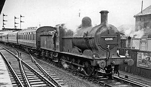 Hellifield railway station - Hellifield as it was in 1959
