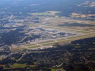 Helsinki Airport - Aerial view of Helsinki Airport