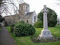 Hempsted, St. Swithun's church and War Memorial - geograph.org.uk - 1091251.jpg