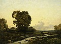 Henri-Joseph Harpignies (1819-1916) - Sunset - VIS.356 - Sheffield Galleries and Museums Trust.jpg