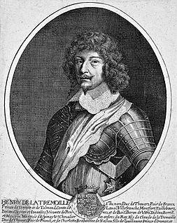 Henri de La Trémoille French general and noble