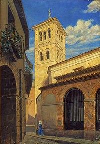 Henrique Manzo - Igreja de São Romão em Toledo, Acervo do Museu Paulista da USP.jpg