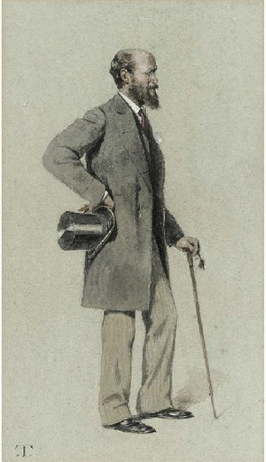 Henry Douglas-Scott-Montagu, 1st Baron Montagu of Beaulieu - Scott as caricatured by Théobald Chartran in Vanity Fair, September 1881