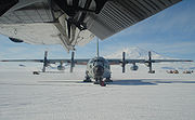 Hercules in Antarctica