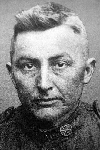 Herman Davis - Herman Davis in uniform circa 1918.