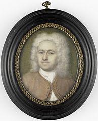Herman Wolters (1682-1756). Echtgenoot van de schilderes