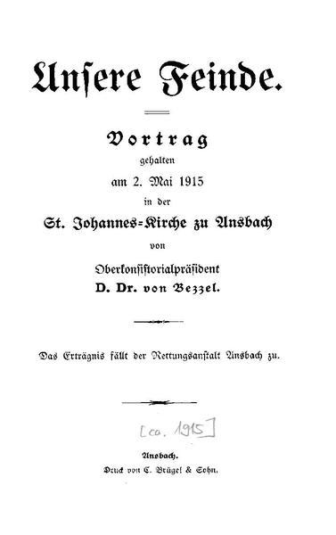 File:Hermann von Bezzel - Unsere Feinde.pdf