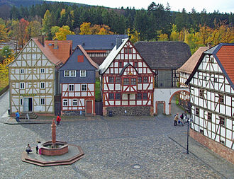 Neu-Anspach - Market place located in Hessenpark