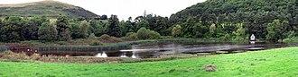Northumberland National Park - Hethpool Lake, north of Hethpool house
