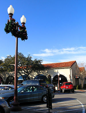 Highland Park, Texas - Highland Park Village during the Christmas holiday season