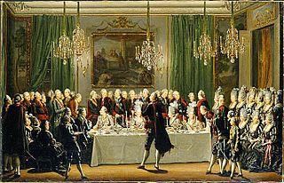 Publik taffel på Stockholms slott Nyårsdagen 1779