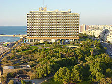 Major western hotel groups have properties in Israel