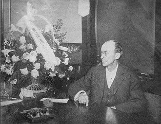 Hiram Gill - Gill as Seattle mayor, c. 1911