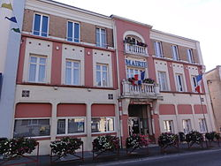 Hirson (Aisne), mairie.JPG
