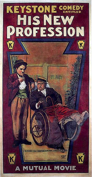 His New Profession - Theatrical poster