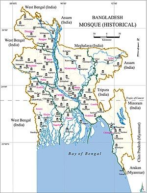Historical mosques in Bangladesh