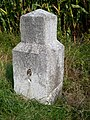 Historischer Nivellements-Grenzpfeiler 6950 (Detailansicht).jpg