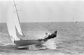 Flying Dutchman (dinghy) - Image: Hollandweek II. Zeilers in aktie, Bestanddeelnr 920 5676