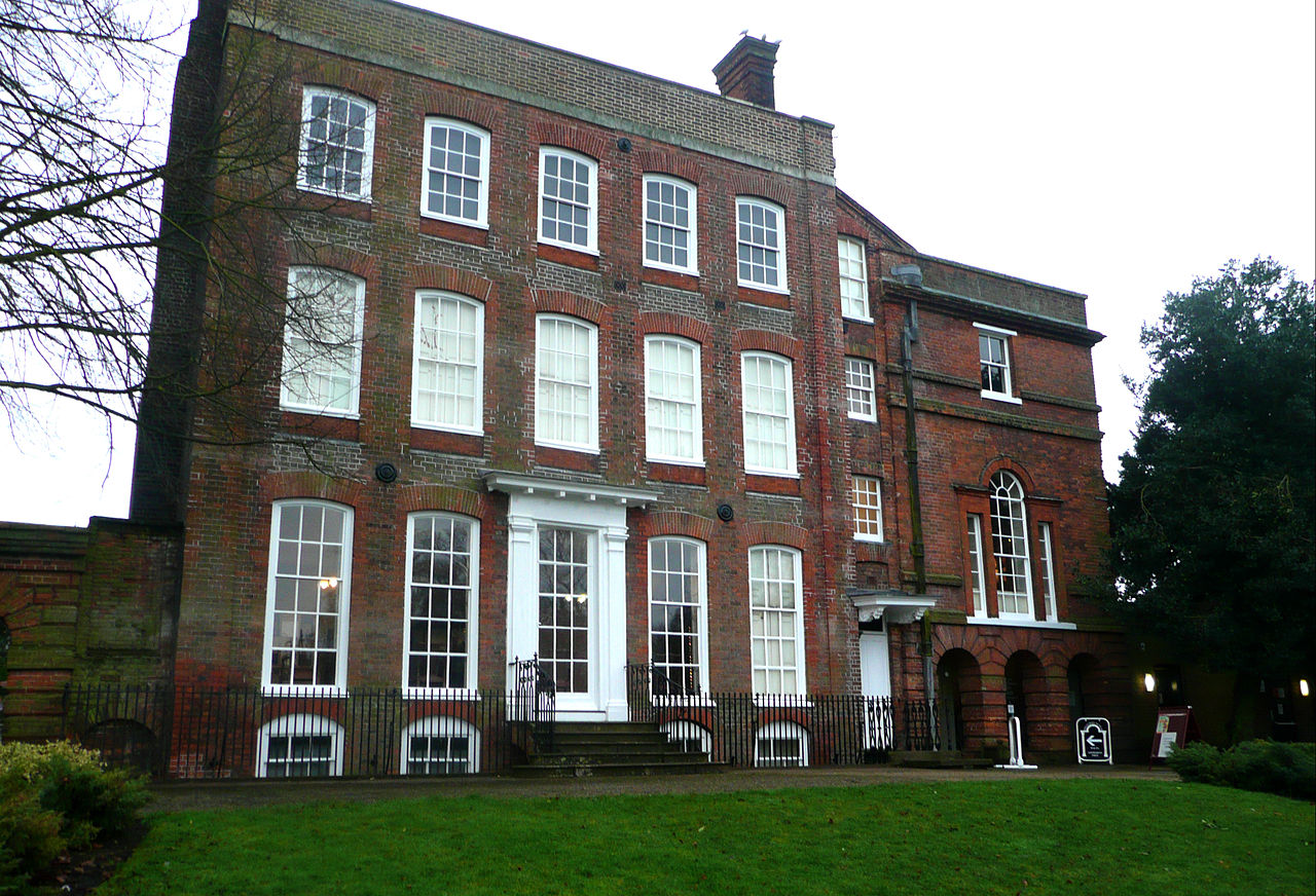 Colchester museum - front view