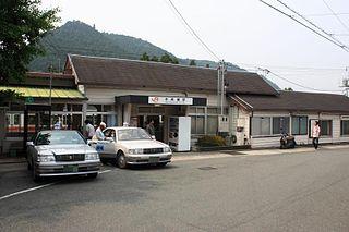 Hon-Nagashino Station Railway station in Shinshiro, Aichi Prefecture, Japan