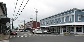 Hamakua - Image: Honoka'a, Hawaii main street