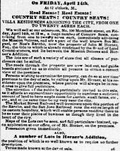Noe Valley San Francisco  Wikipedia