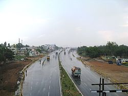 Chandapura-flyover on Hosur road, NH 7
