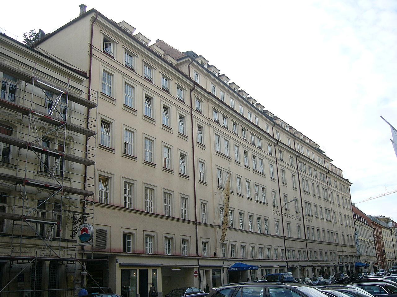 Hotel Bayerischer Hof Burghausen Speisekarte