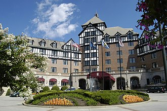 Gainsboro, Roanoke, Virginia - The Hotel Roanoke has been in Gainsboro since 1882.