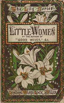 Houghton AC85.Aℓ194L.1869 pt.2aa - Little Women, 1878 cover.jpg