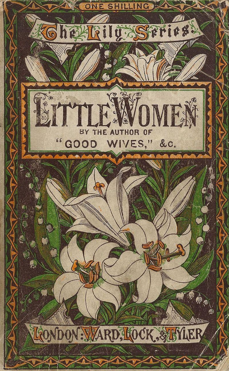 Houghton AC85.Aℓ194L.1869 pt.2aa - Little Women, 1878 cover.jpg