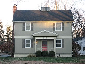 Hobart Welded Steel House Company and its works - Image: House at 203 Penn Road