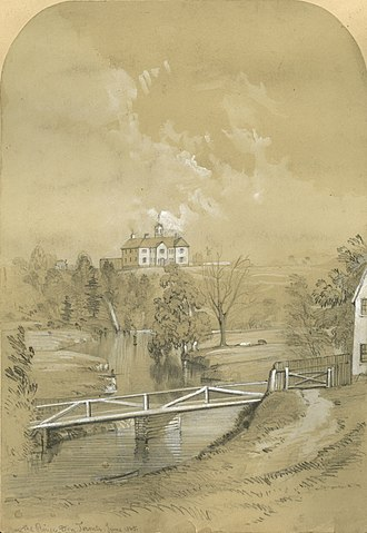 Bridgepoint Active Healthcare - The House of Refuge in 1865